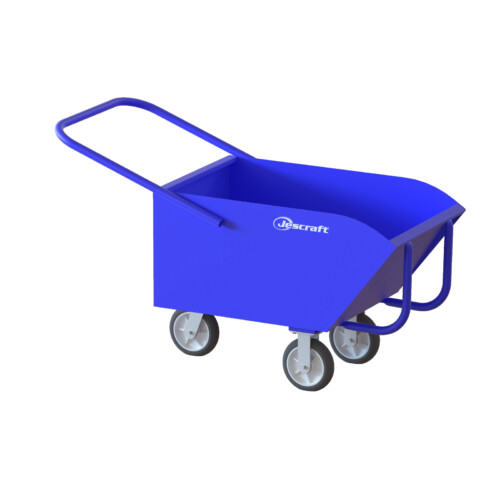 Low-profile Chip Dump Cart