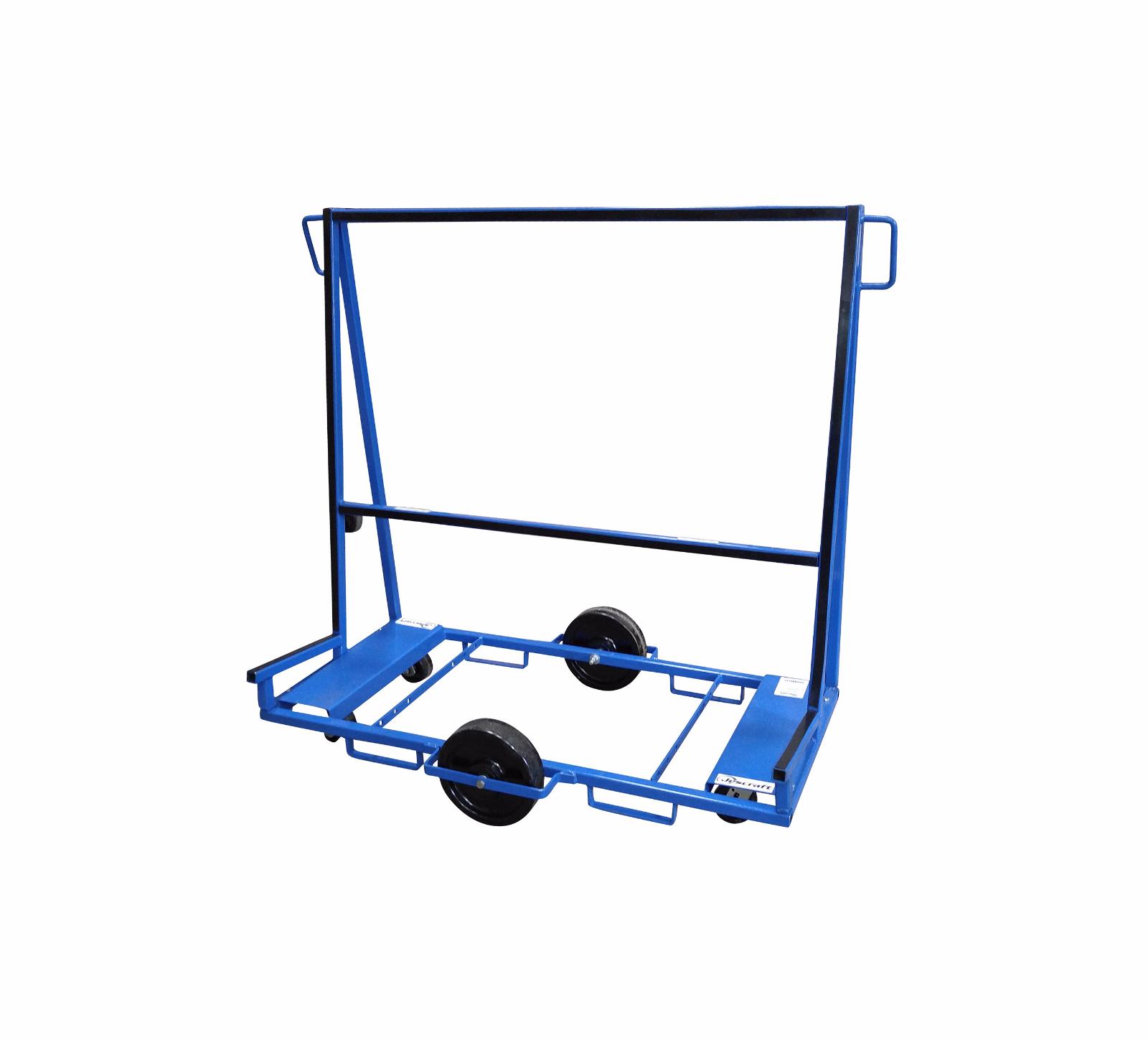 Six Wheel Stone Amp Glass Cart Jescraft